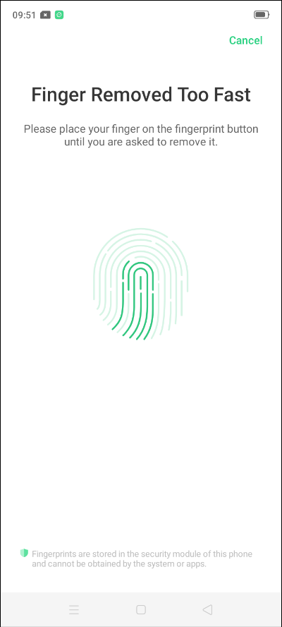 fingerprint sensor and face unlock in Realme 5