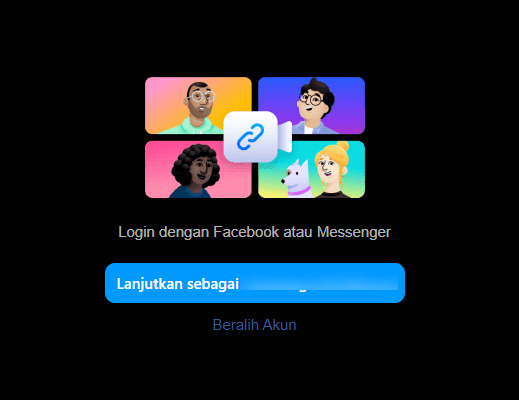 cara video call di WhatsApp Web PC
